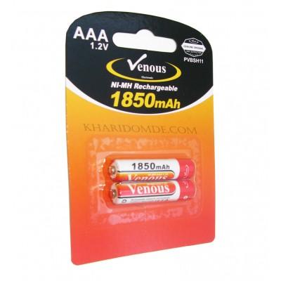 باتری نیم قلمی شارژی Venous مدل PVBSH11 1850mAh