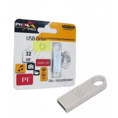 فلش PHONIX PRO مدل 32GB p1 نقره ای