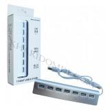 هاب 7 پورت آلمینیومی USB 2.0 WIPRO مدل CZH-H059