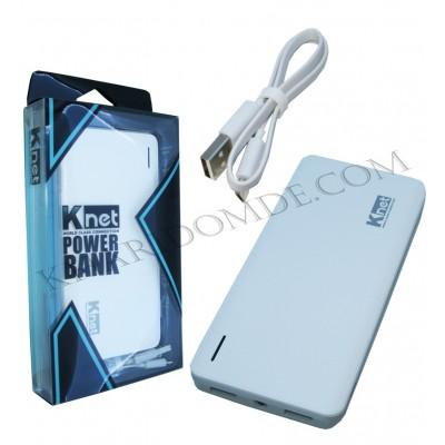 پاور بانک Knet مدل 10000mAH 1.0/2.1A