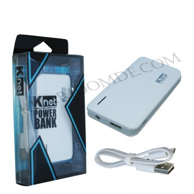 پاور بانک knet مدل 5000mAH 1.0/2.1A