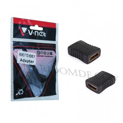 تبدیل 2 سر مادگی V-net HDMI