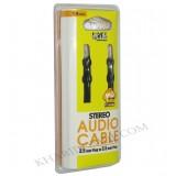 کابل 1 به 1 صدا(AUX) 1.5 متری Knet Plus