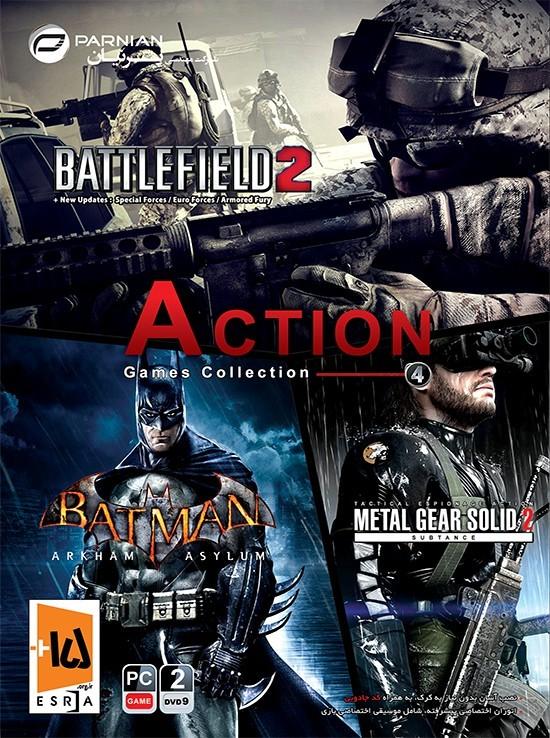 فروش عمده بازی Action Games Collection 4