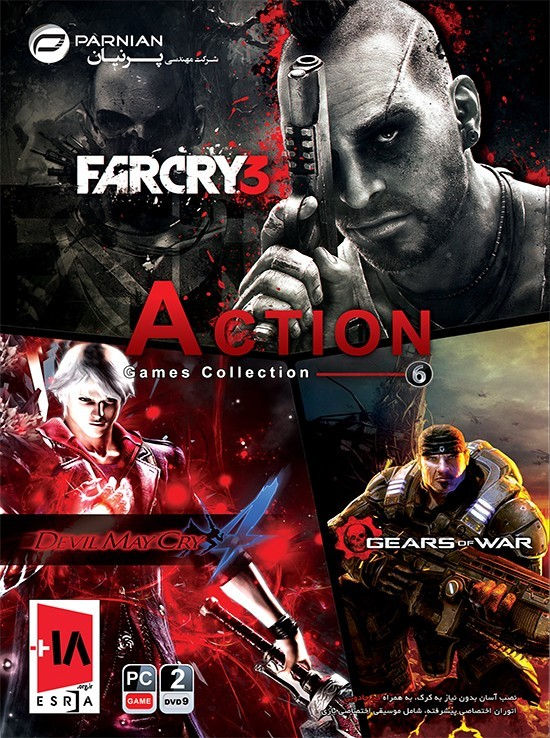 فروش بازی Action Games Collection 6