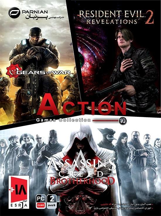 خريدعمده بازی Action Games Collection 10